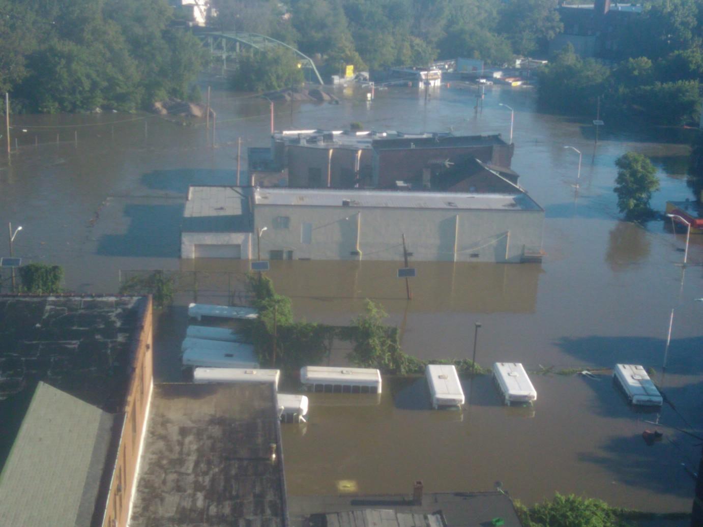 President Barack Obama Tours Hurricane Damage in Paterson, NJ